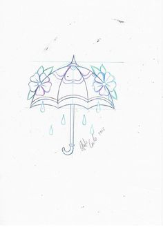 new school tattoo #old school tattoo #umbrella tattoo flash #tattoo idea #neo traditional tattoo