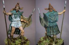 Фракийский пельтаст, V в. до н.э.