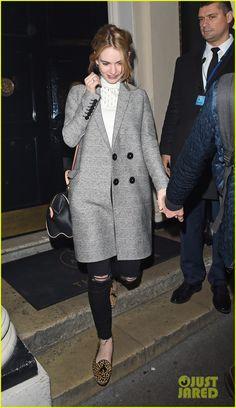 Lily James Supports Boyfriend Matt Smith At 'Lost River' Screening