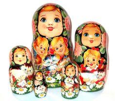 Russian Dolls  - Childrens Nesting Doll,