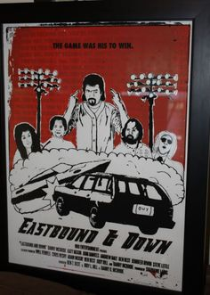 Eastbound and down art print