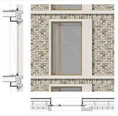 MaccreanorLavington Architects - Connaught Hotels____like this layout Brick Architecture, Architecture Drawings, Brick Facade, Facade House, Connaught Hotel, Facade Pattern, Planer Layout, Brick Detail, Construction Drawings