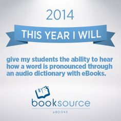 2014 - An eBook #resolution for a better classroom library.