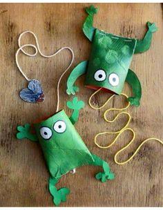 Bilboquet grenouille