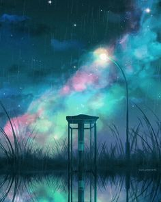 Aesthetic Wallpapers Videos For Pc - Aesthetic Night Aesthetic, Aesthetic Art, Aesthetic Anime, Aesthetic Videos, Night Scenery, Anime Scenery, Wallpaper Bonitos, Sky Anime, Gif Disney