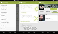 Google Play Games 1.5 añade la sección para ver las invitaciones y partidas online en curso http://www.xatakandroid.com/p/107319