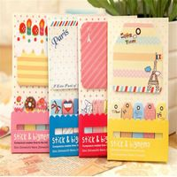 New 1+5 Sticker Post It Bookmark Marker Memo Flags Index Pad Tab Sticky Notes OZ