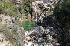 Um Dia no Parque Nacional do Gerês - My Travel Stories Beautiful Waterfalls, Places Ive Been, Road Trip, National Parks, Travel, Viajes, Nature, Wedges, Etchings