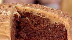 Lorraine's Cake Club winner Suzy Pelta brings us an indulgent treat in the form of her sumptuous chocolate banana cake, finished with a layer of delicious peanut butter frosting.
