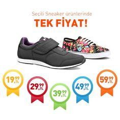 Bugüne özel www.flo.com.tr'de geçerli, seçili Sneaker ürünlerinde 19,99 TL'den başlayan tek fiyat kampanyası başladı!  #fashionable #style #stylish #flo #floayakkabi #shoe #ayakkabı #shop #shopping #men #menfashion #women #womenfashion #summer #women #sneaker #sale #indirim #kampanya #tekfiyat #adidas #kinetix #reebok #polo #vans #lumberjack