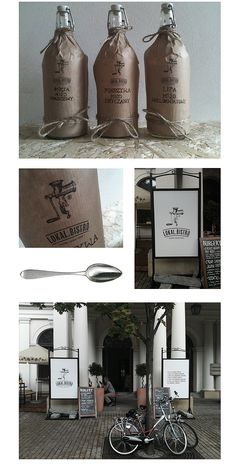 LOKAL.BISTRO® by Zdunkiewicz , via Behance #identity #packaging #branding #marketing PD