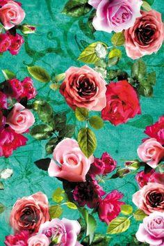vintage floral design.....