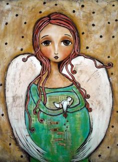 Let Me Mend Your Broken Heart Painting by Patti Ballard - Let Me Mend Your Broken Heart Fine Art Prints and Posters for Sale