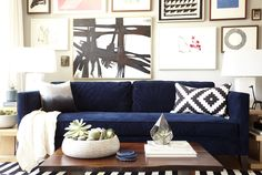 full gallery wall | Emily Hendersoon