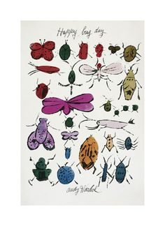 Andy Warhol, Bugs & Insects Prints and Posters