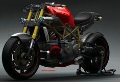 Great concept! Ducati Demon 1.0.