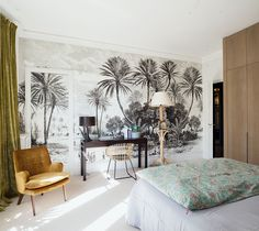 If you even paint the walls and the floor of a typical Parisian apartment just white, you already get a beautiful space - French architecture itself is ✌Pufikhomes - source of home inspiration Parisian Apartment, Paris Apartments, Cute Dorm Rooms, Cool Rooms, Farmhouse Homes, Home Living, Home Look, My Room, Living Room Designs