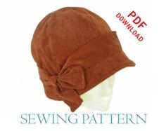 SEWING PATTERN - Penny, 1920s Twenties Cloche Hat for Child or Adult Etsy