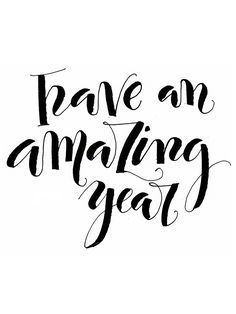 Happy New Year | Have an amazing year!
