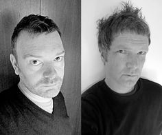 Jon Forss (a sinistra) Kjell Ekhorn (a destra)