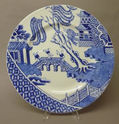 Remake inspired by famous Willow Pattern: link to great article on origin and history of original Willow Pattern