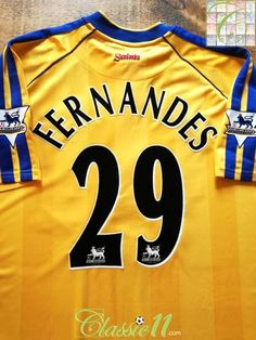 2002 03 Southampton 3rd Premier League Football Shirt Fernandes  29 (XL) de8cd0bb250f7
