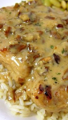 Toasted Pecan Chicken--very easy & very good! Turkey Dishes, Turkey Recipes, Meat Recipes, Chicken Recipes, Cooking Recipes, Dinner Recipes, Think Food, Love Food, Healthy Recipes
