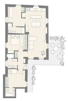 ANITA BIANCHETTI architetto House Plans, Shabby, New Homes, Floor Plans, How To Plan, Interior Design, Inspiration, Furniture, Sims Cc