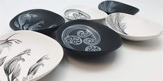 NZ ceramics Kiwiana, Decorative Plates, Ceramics, Tableware, Kitchen, Gifts, Ceramica, Pottery, Dinnerware