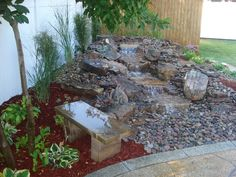 This is my warterfall....LOVE it and the peeps who built it for me...thanks!Pondless Waterfall - Alton, IL