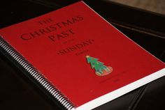 """Your very own Christmas Book - So Festive!   """"The Christmas Past of the Sunday Family"""". It contains Christmas memories for all of the Christmases that we have been a family. We love looking through it. It's so fun to reminisce on past Christmases and remember...Read More »"""