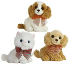 Enjoy your Christmas with these adorable plush friends!