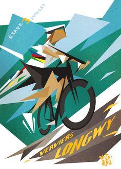 Peter Sagan wins Stage 3 Tour de France 2017 / Tour de France - Daily Poster