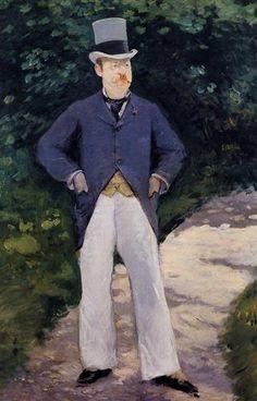 Portrait of Monsieur Brun  - Edouard Manet