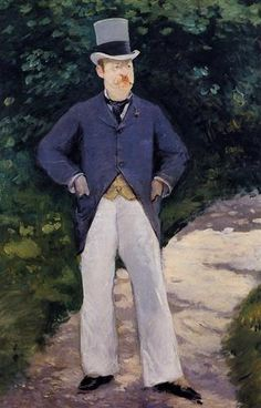 1879 Retrato de Monsieur Brun