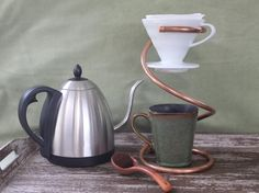 Hario V60 Ceramic Coffee Drip Stand - Without Dripper - Handmade by Major Myk's…