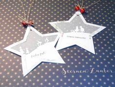 Little Stempelmiez - Handwerk uit liefde Stampin Up Christmas, Christmas Gift Tags, Christmas Crafts, Christmas Ornaments, Handmade Ornaments, Holidays And Events, Handicraft, Making Ideas, Card Making