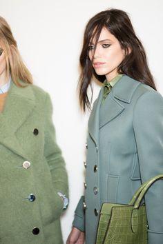 dustjacket attic: Fashion Design   Gucci Backstage: Fall 2014