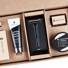 Fewer Blades, Less Irritation') Close Shave, After Shave Balm, All Stainless Steel, Safety Razor, Shaving Cream, The Balm, Core, Lavender, Usa