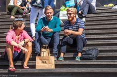Яркие мужчины, серые женщины: как одеты стокгольмцы Scandinavian Fashion, Sports, Hs Sports, Sport