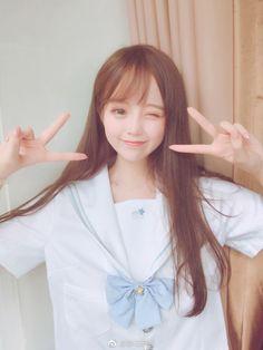 Cute Japanese Girl, Cute Korean Girl, Cute Asian Girls, Cute Girls, Anime Cosplay Girls, Anime Girl Neko, Uzzlang Girl, Pretty Asian, Beautiful Anime Girl