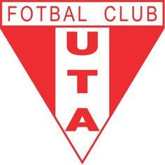 FC UTA Arad of Romania crest.