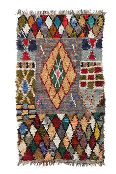 Boucherouite Rug - Harlequin from Fossik #ragrug #rug #Morocco #Berber #handmade