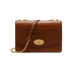 Shop the Large Darley in Oak Natural Leather at Mulberry.com. The Darley is a classic style with a modern edge: crafted in Mulberry's signature grain leather and finished with the iconic postman's lock. The larger Darley is a perfect day-to-evening bag, featuring a zipped internal compartment and eight credit card slots surrounded by luxurious nappa lining.