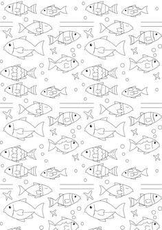 Free printable nautical coloring paper - ausdruckbares Malpapier - freebie | MeinLilaPark – DIY printables and downloads