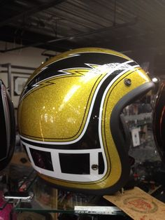 Shine on the road! Retro old school BELL HELMETS! Now available here at H-D® of…