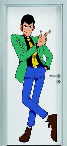 Dierre Printwood - #Porta #Lupin Personalizzare i nostri interni con un personaggio storico dei cartoni animati