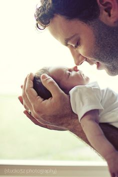 daddy and child baby-photography