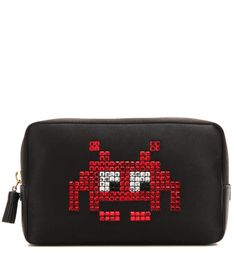 Retro Gaming Space-invaders Personalised School Pencil Case Gift high quality