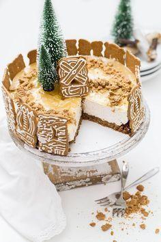 Blogging under the Mistletoe: Spekulatius Bratapfel Cheesecake // Werbung - KüchenDeern